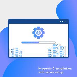 We will do magento 2 installation with server setup