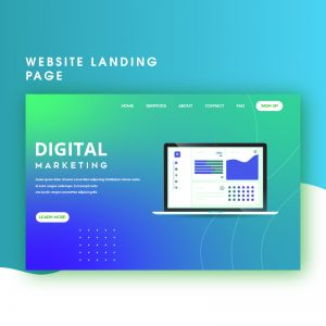 We will create modern responsive one page website UI UX design