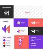 We will create professional brand logo and style guides